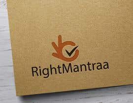 mdshariful1257 tarafından need a logo for our new brand 'RightMantraa' için no 28