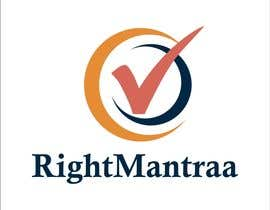 jpasif tarafından need a logo for our new brand 'RightMantraa' için no 2