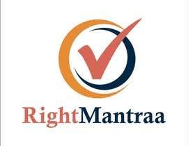jpasif tarafından need a logo for our new brand 'RightMantraa' için no 5