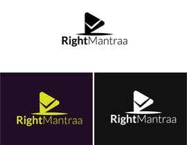 jatika7265 tarafından need a logo for our new brand 'RightMantraa' için no 9