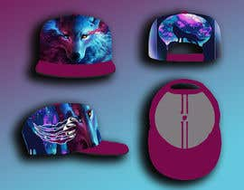 #6 for snapback flat brim hat design af Shamsul974