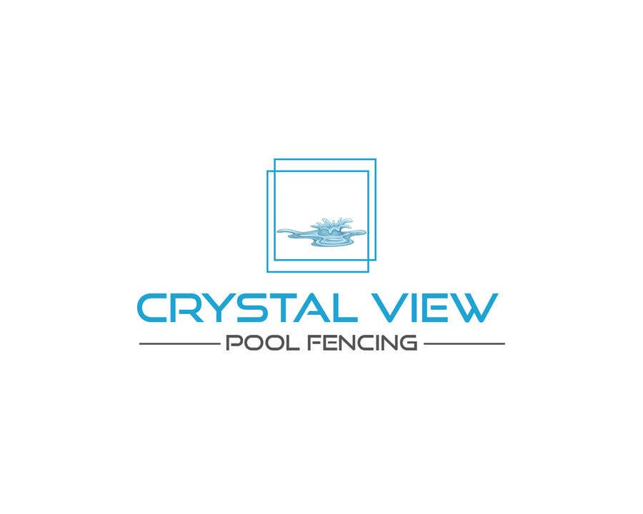 Contest Entry #                                        9                                      for                                         New Business Logo - Crystal View Pool Fencing
