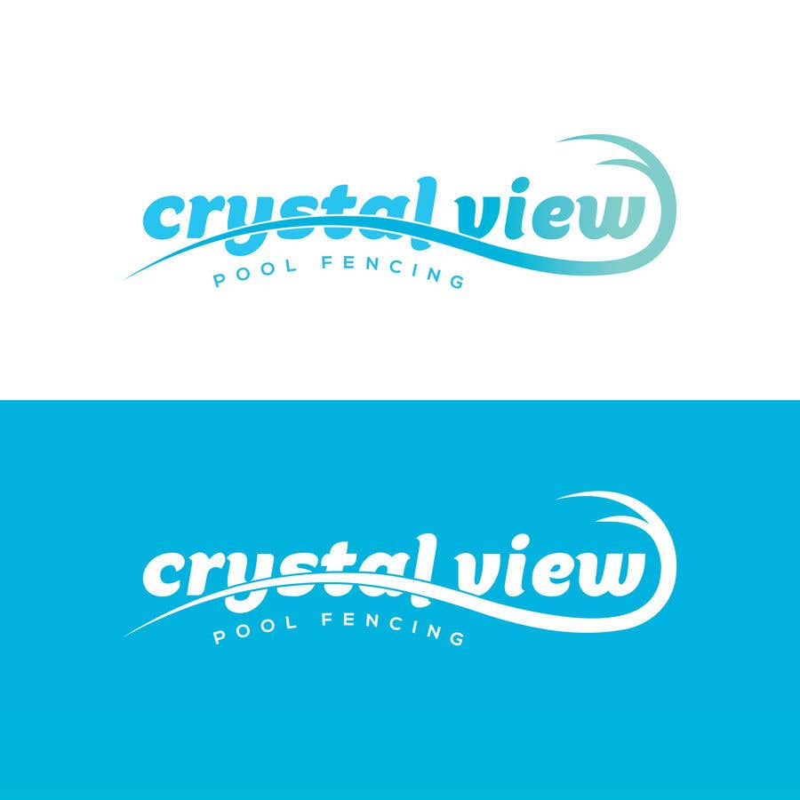 Contest Entry #                                        66                                      for                                         New Business Logo - Crystal View Pool Fencing