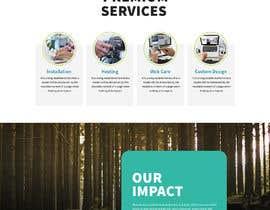 #37 для Homepage mockup for digital agency that serves nonprofits - DESIGN ONLY от saidesigner87