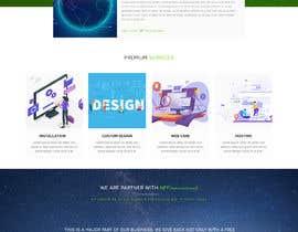 #30 для Homepage mockup for digital agency that serves nonprofits - DESIGN ONLY от qadirf39