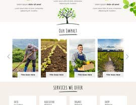 #12 для Homepage mockup for digital agency that serves nonprofits - DESIGN ONLY от anusri1988