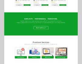 #35 для Homepage mockup for digital agency that serves nonprofits - DESIGN ONLY от Mostakim2001