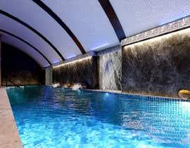 #13 para 3D rendering for a Hotel's Wellness Area por semihyoldas