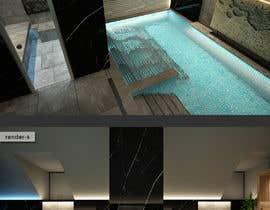#22 para 3D rendering for a Hotel's Wellness Area por sercevik