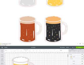 #6 for Original Clipart Design, Champagne, Beer, Drinks by Afelipemora