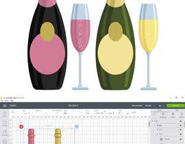 #36 for Original Clipart Design, Champagne, Beer, Drinks by Afelipemora
