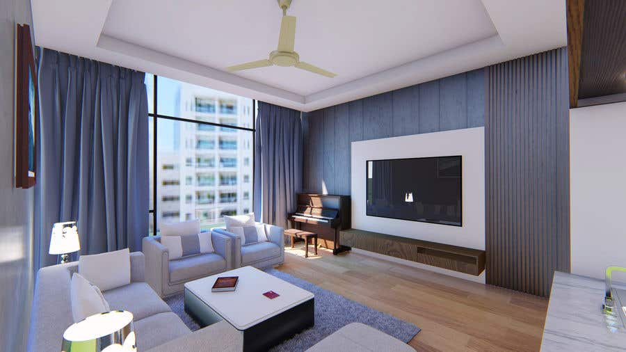 Bài tham dự cuộc thi #                                        60                                      cho                                         Apartment interior design