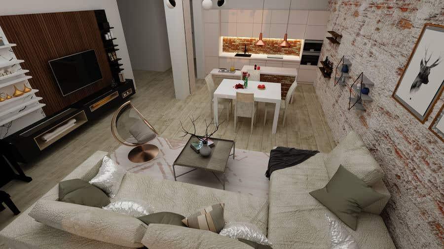 Bài tham dự cuộc thi #                                        58                                      cho                                         Apartment interior design