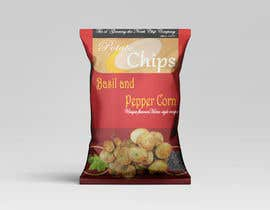 #9 for Need a packet of chips designed. Front and back. by Asifshahriar007