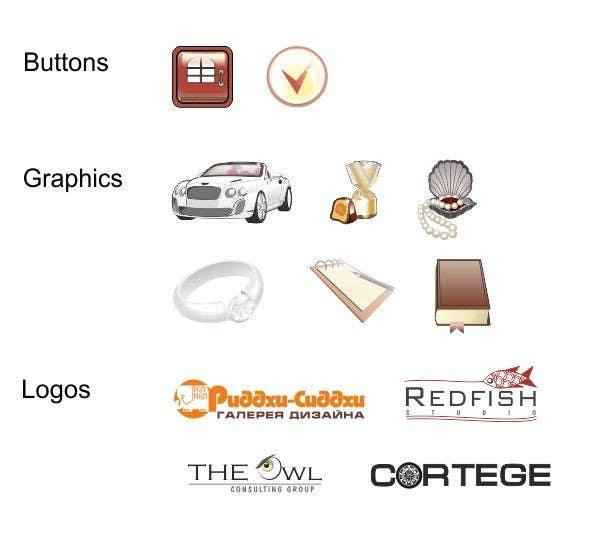 Kilpailutyö #                                        5                                      kilpailussa                                         Icon or Button Design for website