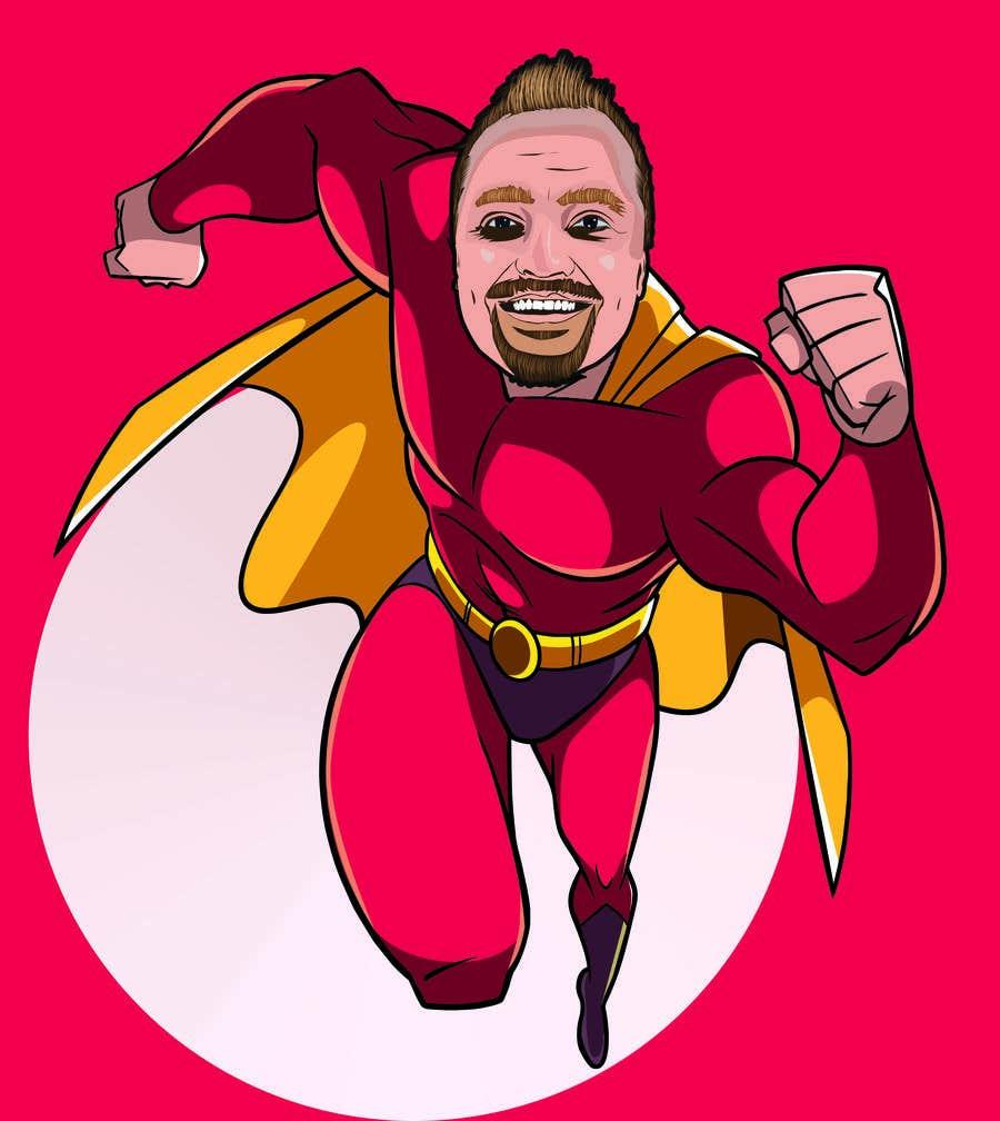 Penyertaan Peraduan #                                        22                                      untuk                                         SUPERHERO - Convert photo to superhero image