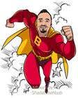Bài tham dự #52 về Graphic Design cho cuộc thi SUPERHERO - Convert photo to superhero image