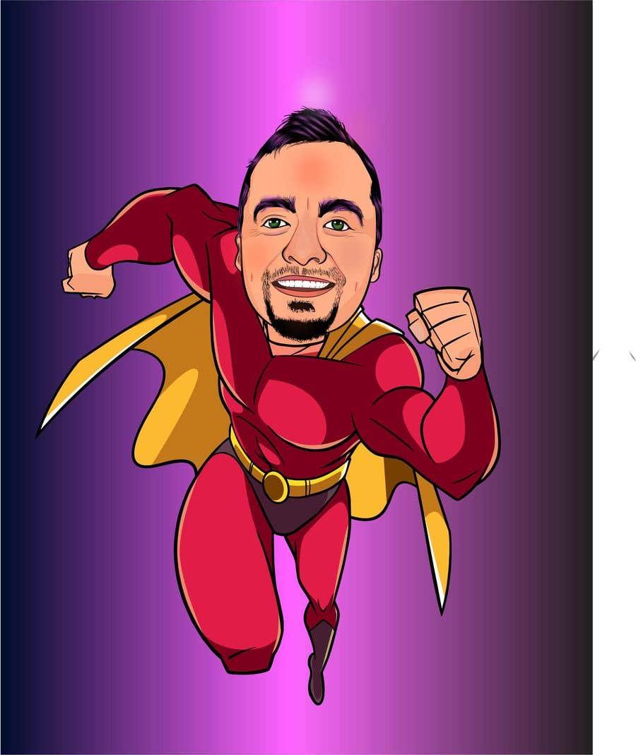Penyertaan Peraduan #                                        42                                      untuk                                         SUPERHERO - Convert photo to superhero image
