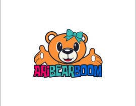 #24 untuk Logo creation for child's YouTube channel, similar to 'Ryan's toy review' and 'Janet and Kate'. This will be a PRIVATE YouTube channel. The account name will be AriBearBoom. Account for mostly playing video games. Needs to be fun, bright and colourful. oleh Roselyncuenca