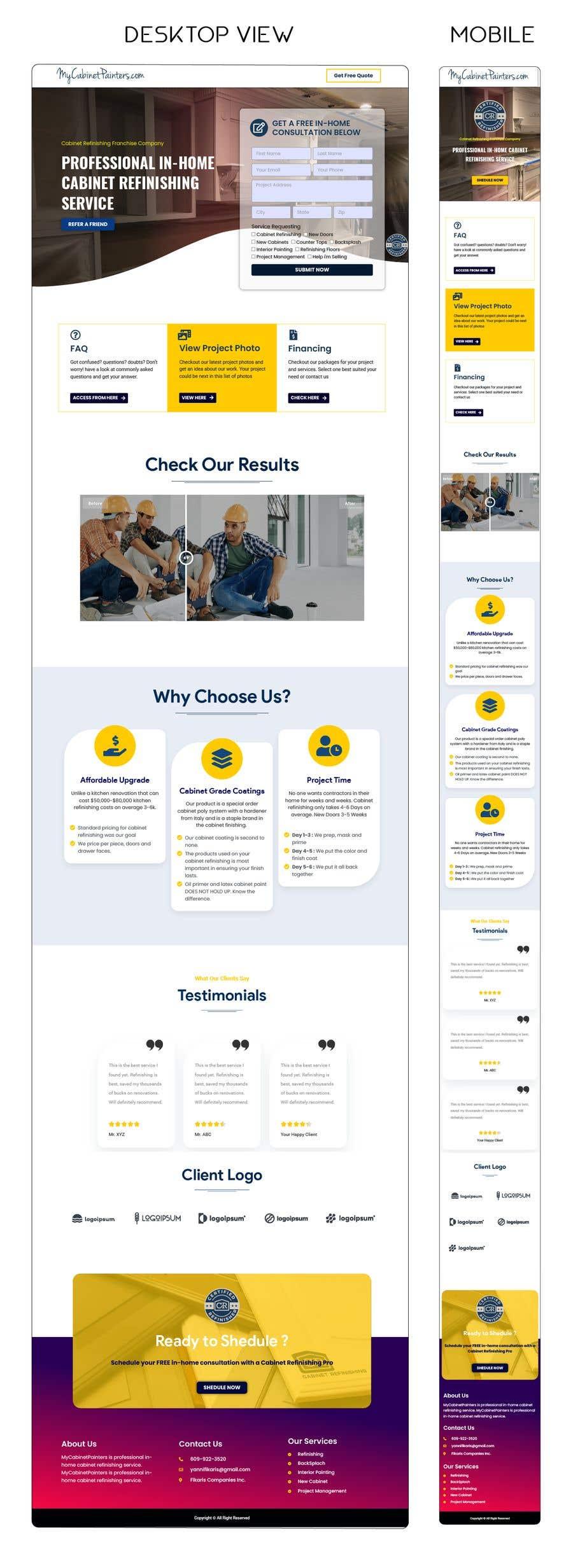Kilpailutyö #                                        48                                      kilpailussa                                         Design and Build a Website - Awesome Responsive Wordpress site