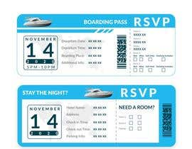 anthony2020 tarafından Invitation to Exclusive Event - Boarding Pass Style için no 12
