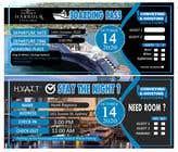 Invitation to Exclusive Event - Boarding Pass Style için Graphic Design31 No.lu Yarışma Girdisi