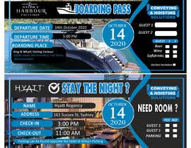 boyetplatio tarafından Invitation to Exclusive Event - Boarding Pass Style için no 31