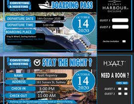 boyetplatio tarafından Invitation to Exclusive Event - Boarding Pass Style için no 40