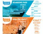 Invitation to Exclusive Event - Boarding Pass Style için Graphic Design39 No.lu Yarışma Girdisi
