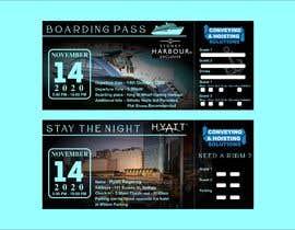 EditorVishal tarafından Invitation to Exclusive Event - Boarding Pass Style için no 60