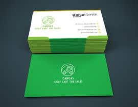 #44 for LOGO/Business card design for Golf Cart Tires sales business. af sadmanshakib9