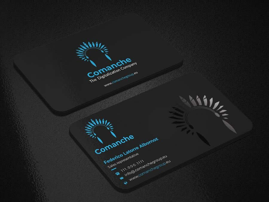 Contest Entry #                                        9                                      for                                         Awesome, professional Business card