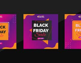 #53 for Create 3 banner for: black friday, Stock and offers by asifarifeen