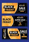 Logo Design Contest Entry #33 for Create 3 banner for: black friday, Stock and offers