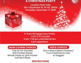 #35 for 2020 Christmas Flyer by jeewa10