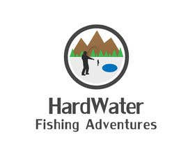 #103 untuk Create a Logo for HardWater Fishing Adventures oleh orcejordanov