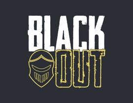 #11 untuk logo for t-shirt - Blackout oleh Tamimshikder10