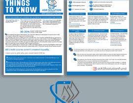 #83 for Create a pdf flyer by khaledparvez123