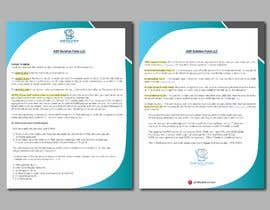 #78 for Create a pdf flyer by forhad150