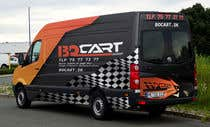 Graphic Design Contest Entry #249 for Design a RACING STYLE wrap for our new VW Crafter van