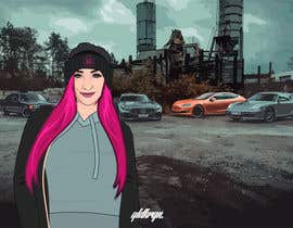 #16 para Picture design, Cut out a person of a picture, paste in the other picture and make it look like a cartoon. por jeewa10