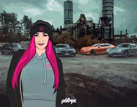 #33 para Picture design, Cut out a person of a picture, paste in the other picture and make it look like a cartoon. por jeewa10