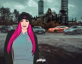 #34 para Picture design, Cut out a person of a picture, paste in the other picture and make it look like a cartoon. por jeewa10