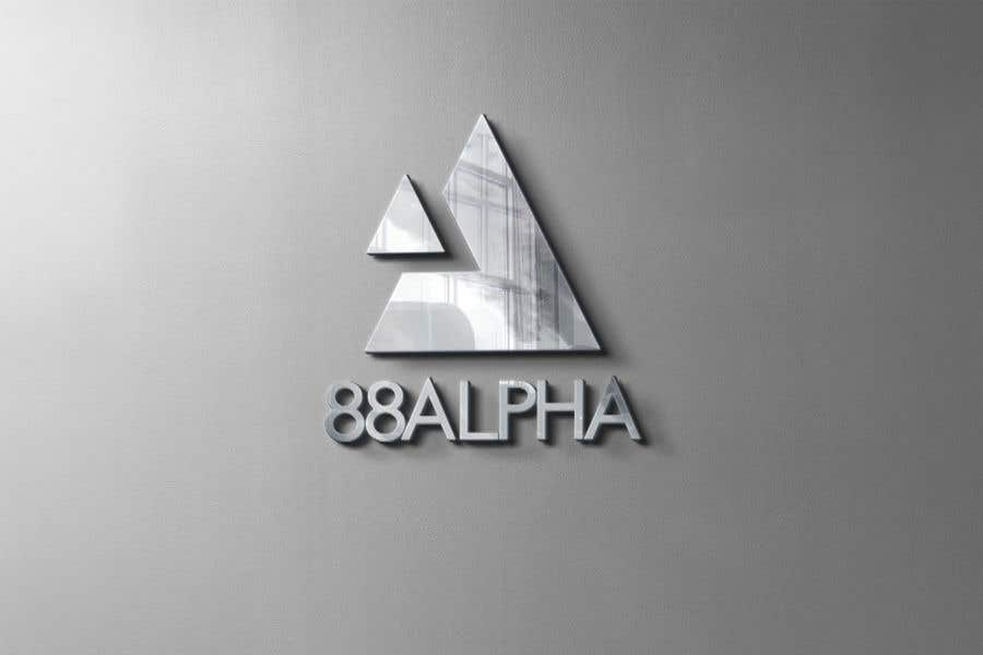 Contest Entry #                                        499                                      for                                         LOGO Design - 88ALPHA - Hospitality Management Company