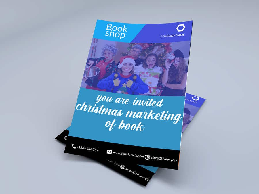 Contest Entry #                                        34                                      for                                         Flyer for a book marketing