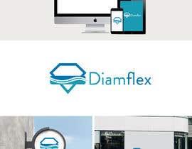 #132 untuk Logo for mattress company - Diamflex oleh alidesigners