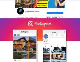 #327 for Create Mosaico for instagram and Facebook Cover by smmonirbd63