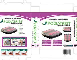 #9 for Podiatrist Sole Reflex BOX ART af adelheid574803