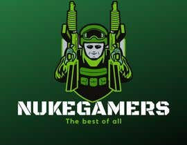 "#3 untuk I need an graphic design for an GamingClan image, the Clan Name is Called: ""NukeGamers oleh ricardozien"