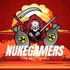 """Graphic Design Entri Peraduan #8 for I need an graphic design for an GamingClan image, the Clan Name is Called: """"NukeGamers"""